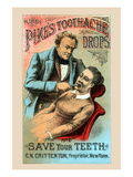 Use Pikes Toothache Drops and Save Your Teeth