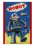 Remote Control Revolving Flashing Robot