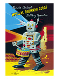 Musical Drummer Robot