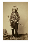 Little  the Instigator of Indian Revolt at Pine Ridge  1890