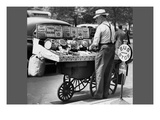 Vendor Pushcart Sales of Nuts