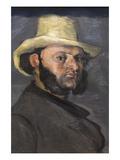 Gustav Boyer in Straw Hat