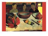 Still Life with Banana Reproduction d'art par Paul Gauguin