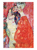 The Girlfriends Reproduction d'art par Gustav Klimt