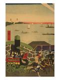 Famous Places in Tokyo: Real View of Takanawa (Tokyo Meisho Takanawa No Shinkei) No1