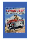 Battery Operated Flying Jeep with Mystery Action