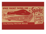 Space Rocket Patrol Car