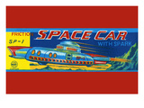 Sp-1 Friction Space Car