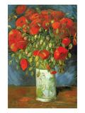 Coquelicots Reproduction d'art par Vincent Van Gogh