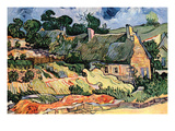 Shelters in Cordeville by Van Gogh
