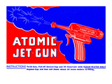 Atomic Jet-Gun