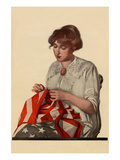 Sewing the Stars and Stripes