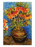 Fritillaries by Van Gogh Reproduction d'art par Vincent Van Gogh