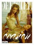 L'Officiel  2004 - Rosi et Britt en Roberto Cavalli