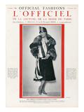 L'Officiel  November 1925 - Mlle Spinelly Ueva
