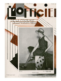 L'Officiel  February 1928 - Mme Agnès