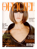 L&#39;Officiel  September 1995 - Laurie  Visage de La Mode  Habill&#233;e Par Christian Dior
