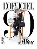 L'Officiel  October 2011 - Tavi Gevinson
