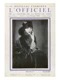 L'Officiel  January 1926 - Mlle Olga Pouffkine