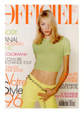 L'Officiel  February 1996 - Jodie Kidd