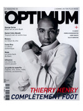 L&#39;Optimum  June-July 2004 - Thierry Henry Porte un Blouson Nike