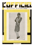 L'Officiel  June 1928 - Mlle Lily Damita