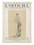 L'Officiel  September-October 1923 - Création Jeanne Lanvin