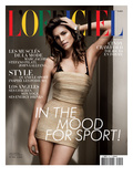 L'Officiel  April 2010 - Cindy Crawford