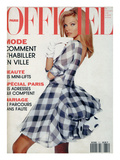 L'Officiel  April-May 1992 - Christian Dior: Robe en Mousseline et Organ