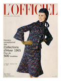 L'Officiel  September 1964 - Deux-Pièces de Pierre Cardin en Lainage De_Fred Carlin