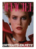 L'Officiel  December 1983 - Christian Dior Boutique