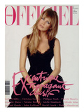 L&#39;Officiel  December 1993 - Claudia Schiffer