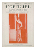L&#39;Officiel  February-March 1923 - Cr&#233;ation Paul Poiret