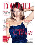L'Officiel  May 2011 - Angela Lindvall