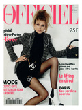 L'Officiel  August 1994 - Bridget Hall  Star Des Tops Models Porte Le Nouveau Chanel