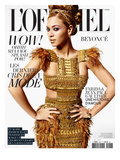 L'Officiel  March 2011 - Beyoncé