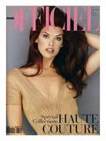 L'Officiel  March 1993 - Shana Habillée Par Valentino