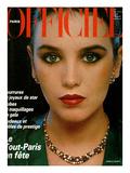L'Officiel  December 1979 - Isabelle Adjani