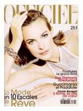 L'Officiel  December 1997 - Carole Bouquet