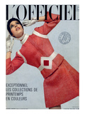 L'Officiel  March 1969 - Pierre Cardin  Tailleur en Tweed de Leleu