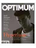 L'Optimum  December 2004-January 2005 - Hedi Slimane