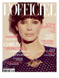 L'Officiel  November 2011 - Christy Turlington
