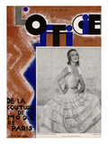 L'Officiel  March 1931 - Mle Mila Cirul/Rubans de Maurice Vergne/ J Suzanne Ta