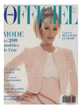 L'Officiel  February 1994 - Karen Mulder