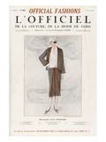 L'Officiel  March 1925 - Mlle Olga Pouffkine