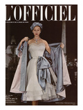 L'Officiel  June 1951 - Ensemble de Jacques Fath