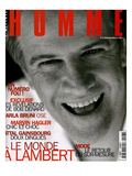 L'Optimum  December 1996-January 1997 - Christophe Lambert Habillé Par Armani