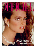 L'Officiel  December 1981 - Brooke Shields