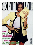 L'Officiel  February 1992 - Le Nouveau Tailleur Chanel en Éponge  Sur Débardeur