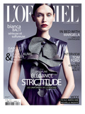 L'Officiel  September 2011 - Bianca Balti